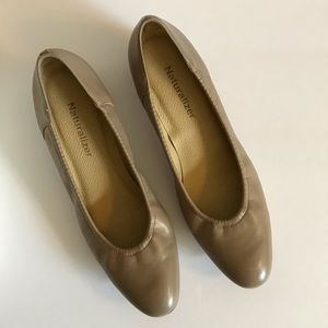 Naturalizer Roslyn Taupe Leather Pumps 3A